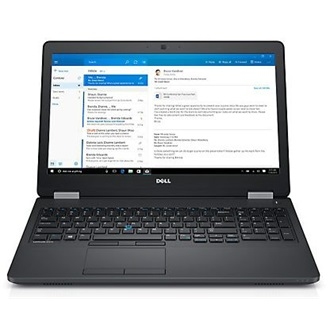 Dell Latitude E5570 notebook fekete