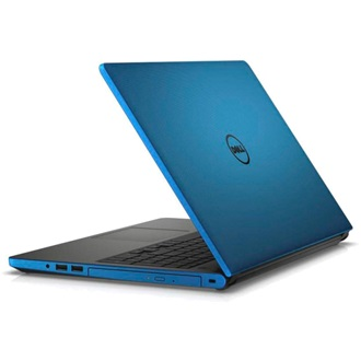 "DELL NB Inspiron 5558 15.6"" HD, Intel Core i3-4005U 1.7GHz, 4GB, 500GB, DVD-RW, Intel HD 4400, Win 8.1, 4 cell, kék"