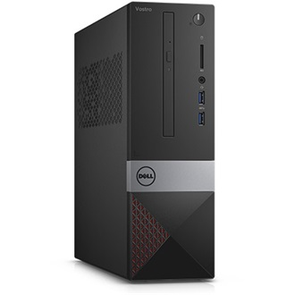 DELL PC VOSTRO 3250SFF Intel Core i3-6100 3.70 GHz, 4GB, 500GB, WLAN+BT