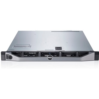 DELL PowerEdge R430, 2x Intel Xeon E5-2630 v3 2.4GHz, 20M Cache 8.00GT/s QPI,Turbo,HT,8C/16T (85W), no RDIMM 2133MT/s Du