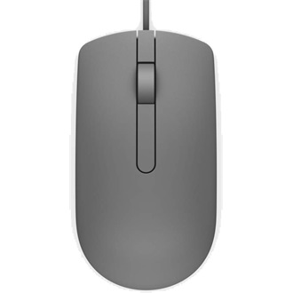 DELL Vezetékes egér, MS116 Optical Mouse - Grey