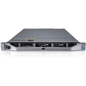 DELL rack szerver PowerEdge R630, 6C E5-2620v3 2.4GHz, 8GB, 600GB SAS 10K, NoOS.