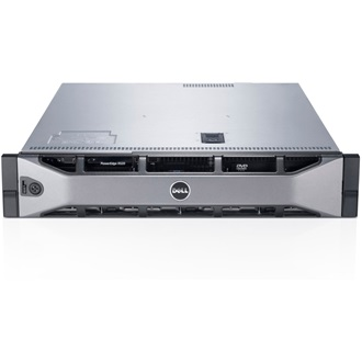 DELL rack szerver PowerEdge R730, 2x 10C E5-2630v4 2.2GHz, 64GB, 4.8TB SAS 10k, NoOS.