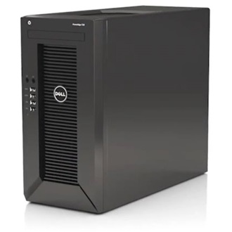 DELL torony szerver PowerEdge Mini T20, 4C E3-1225v3 3.2GHz, 8GB, 2TB SATA, NoOS.