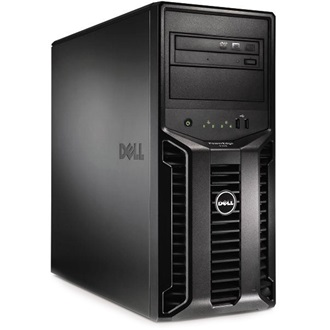 DELL torony szerver PowerEdge T110 II., 4C E3-1230v2 3.3GHz, 8GB, 2x1TB NSAS, NoOS.