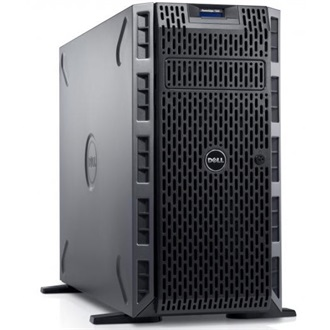 DELL torony szerver PowerEdge T320, 6C E5-2430v2 2.5GHz, 16GB, 600GB SAS 10k, NoOS.