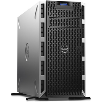 DELL torony szerver PowerEdge T330, 4C E3-1240v5 3.5GHz, 16GB, 1.2TB SAS 10k, NoOS.