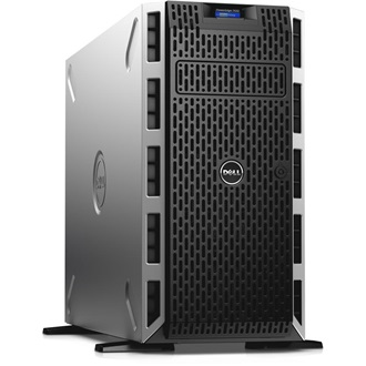 DELL torony szerver PowerEdge T430, 1x 8C E5-2620v4 2.1GHz, 8GB, 4TB NSAS, NoOS.