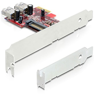 Delock PCI-E x1 - 2 portos (USB 3.0 internal) IO vezérlő