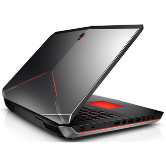 Dell Alienware 17 gamer notebook ezüst