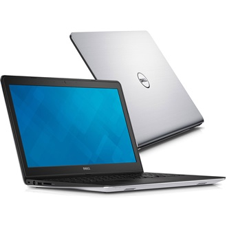 Dell Inspiron 15R Silver notebook Ci7 5500U 2.4GHz 8GB 1TB R7 M270 3cell Linux