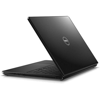 Dell Inspiron 15 Black gloss notebook A6-7310 2.2GHz 4GB 500GB RadR5 4cell Linux