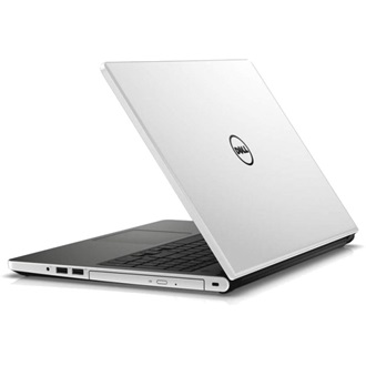 Dell Inspiron 15 White gloss notebook W8.1 Ci3 4005U 1.7GHz 4GB 500GB HD4400