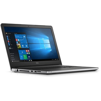 "Dell Inspiron 5559 15.6"" HD, Intel Core i5-6200U (2.80 GHz), 4GB, 1TB, R5 M335 4GB, Linux, ezüst"