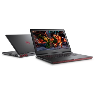 Dell Inspiron 7567 notebook fekete