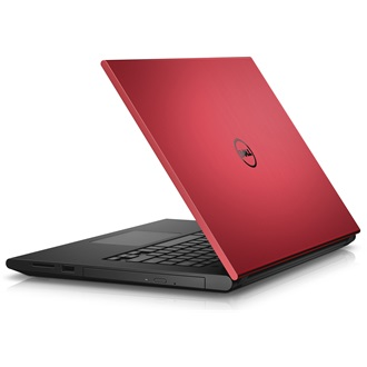 Dell Inspiron 3542 notebook piros