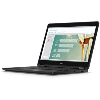 Dell Latitude E7270 notebook fekete