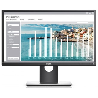 "Dell P2217 22"" TN LED monitor fekete"