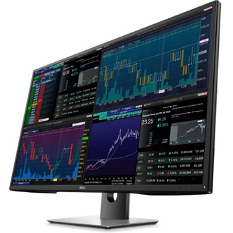 "Dell P4317Q 43"" IPS LED monitor fekete"