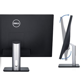 "DELL S2740 27"" LED monitor fekete"