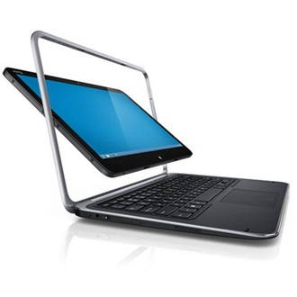 Dell XPS Duo 12 ultrabook fekete