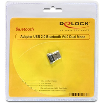 Delock USB2.0 - Bluetooth adapter V4.0 Dual Mode