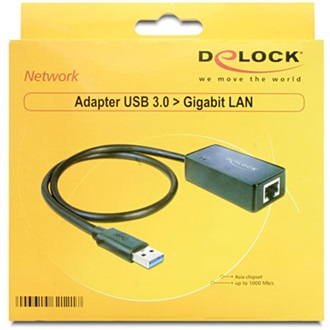 Delock 1Gb/s USB3.0 A hálózati adapter