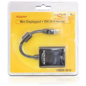 DELOCK Displayport mini -> DVI-D M/F adapter