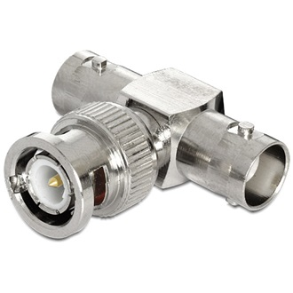 Delock BNC <-> 2 BNC M/F adapter 50ohm