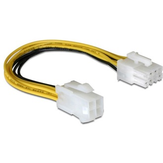 Delock Power 4pin -> Power 8pin M/F adapter