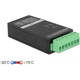 Delock Converter 1 x Serial RS-232 to 1 x Serial RS-422/485 with ESD protection 15 kV surge protect