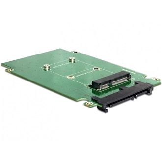 "Delock SATA 22pin -> mSATA konverter with 2.5"" Frame"