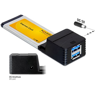 Delock Express Card > 2x USB 3.0