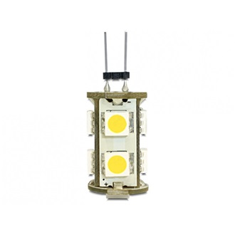 Delock Lighting G4 LED Leuchtmittel 1,3 W warmweiß 9 x SMD