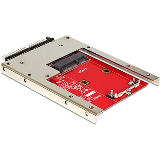 "Delock IDE 2.5"" 44pin -> mSATA adapter with 2.5"" Frame (7 mm)"