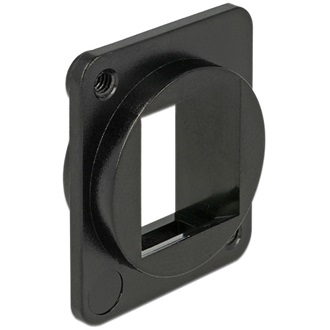 Delock Keystone Mounting 1 Port for D-type