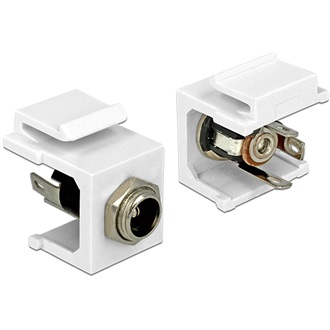 Delock Keystone module DC 5.5 x 2.5 mm socket