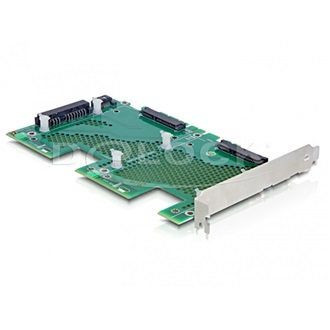 "Delock 2.5"" SATA3 backplane PCI/PCI Express"