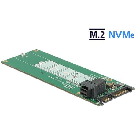 Delock SATA 22pin -> M.2 NGFF M/F adapter Key M