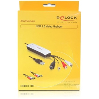 Delock Video Grabber USB2.0 video editor fehér