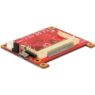 Delock USB micro B -> Compact Flash F/M adapter Raspberry Pi-hez