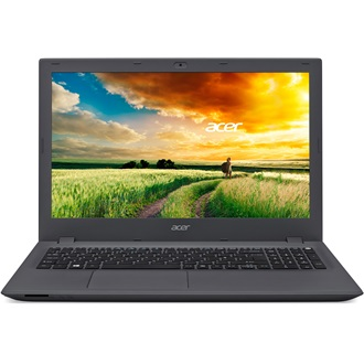 "E5-573-525C 15.6"" HD Acer Cinecrystal™ LED, 1366x768, Black - Iron, Intel® Core™ i5-5200U - 2.2GHz, 4GB, 500GB HDD / 540"