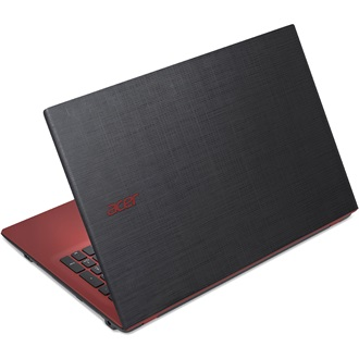 "E5-573-P907 15.6"" HD Acer Cinecrystal™ LED, 1366x768, Black - Red, Intel® Pentium® Dual Core™ 3556U - 1.7GHz, 4GB, 500GB"