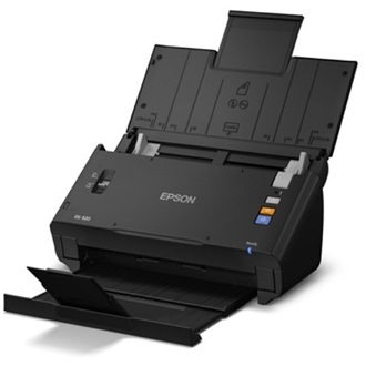 EPSON Docuscanner WorkForce DS-520N, USB/Háló, Duplex, ADF, A4 30 lap/perc, 600 dpi