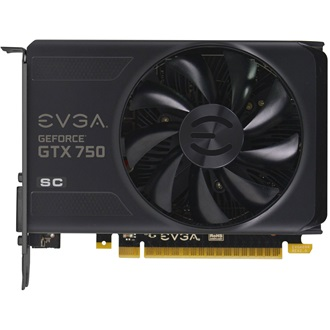 EVGA GeForce GTX 750 Superclocked 2GB GDDR5 128bit grafikus kártya