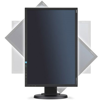"NEC E223W 22"" TN LED monitor fekete"