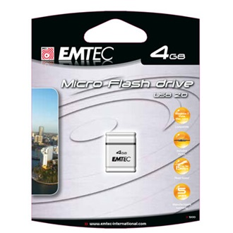 Emtec 4GB S100 Micro USB Flash Drive