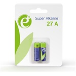 Energenie Alkaline 27A battery, 2-pack