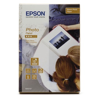Epson Photo Paper, 100 x 150 mm, 190g/m2, 70 Sheets