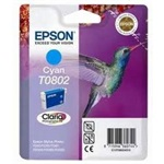 Epson Singlepack Cyan T0802 Claria Photographic Ink